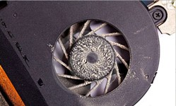 Dirty Laptop Fan