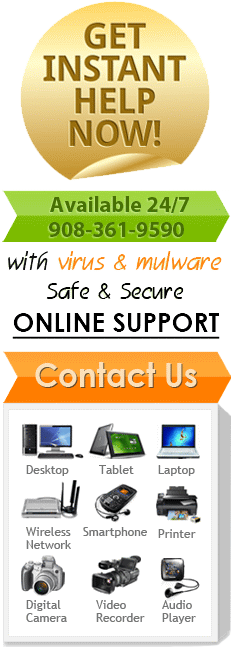 Get instant help with visus and mulware